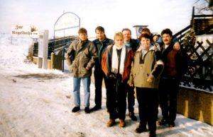 Die Anfänge der Achtziger Jahre Band