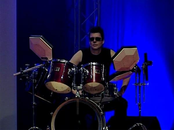 Ulf der Drummer der Band