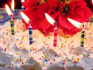 Eine Torte fürs Geburtstagskind